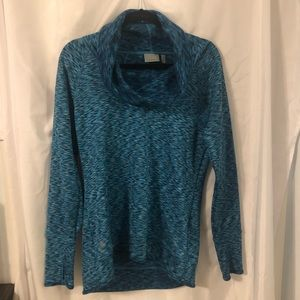 Athleta Cowl neck Fleece Top
